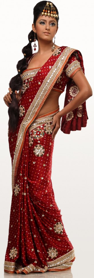 If you are a westerner then some of the indian wedding colors might be too