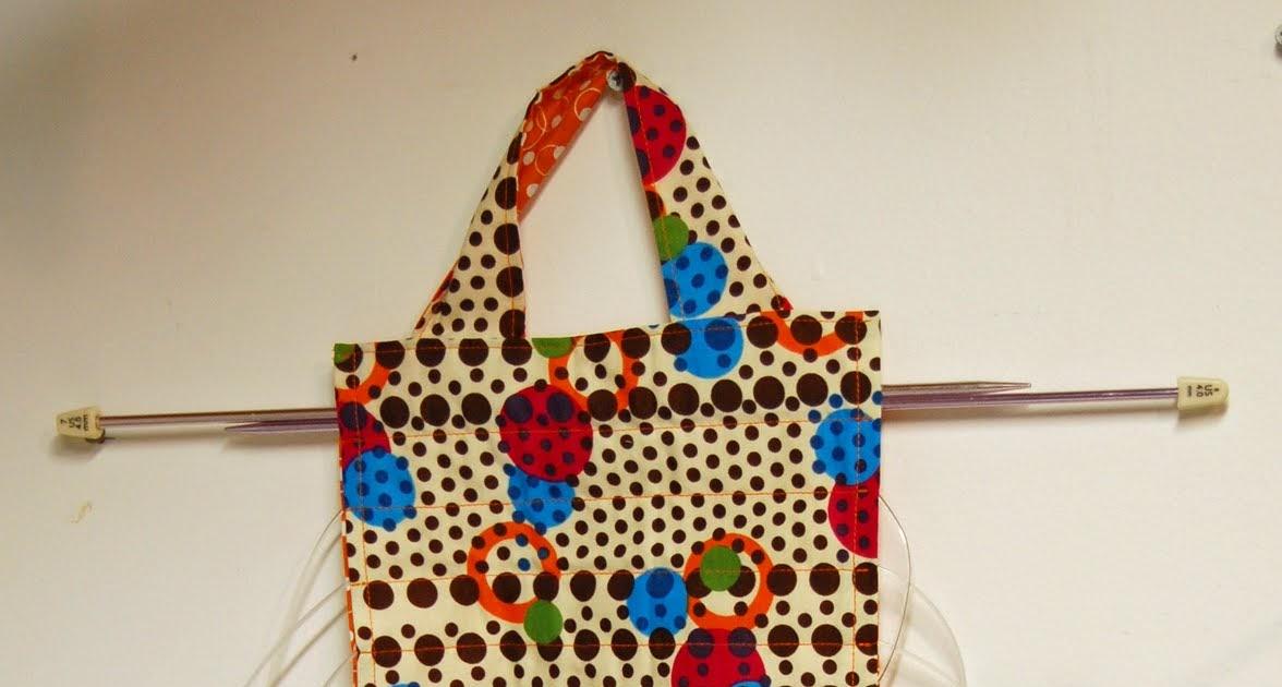 Pin And Paper Hanging Circular Knitting Needle Holder A Tutorial
