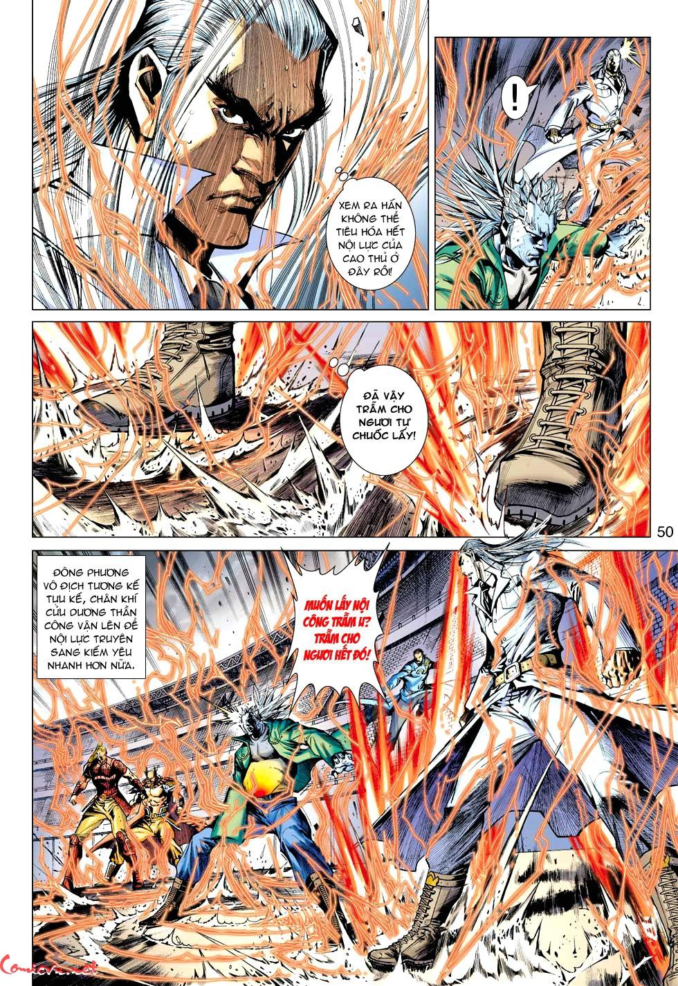Vương Phong Lôi 1 chap 35 - Trang 8