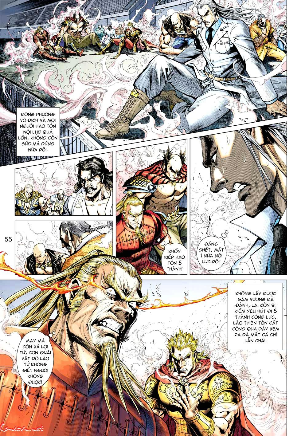 Vương Phong Lôi 1 chap 35 - Trang 12