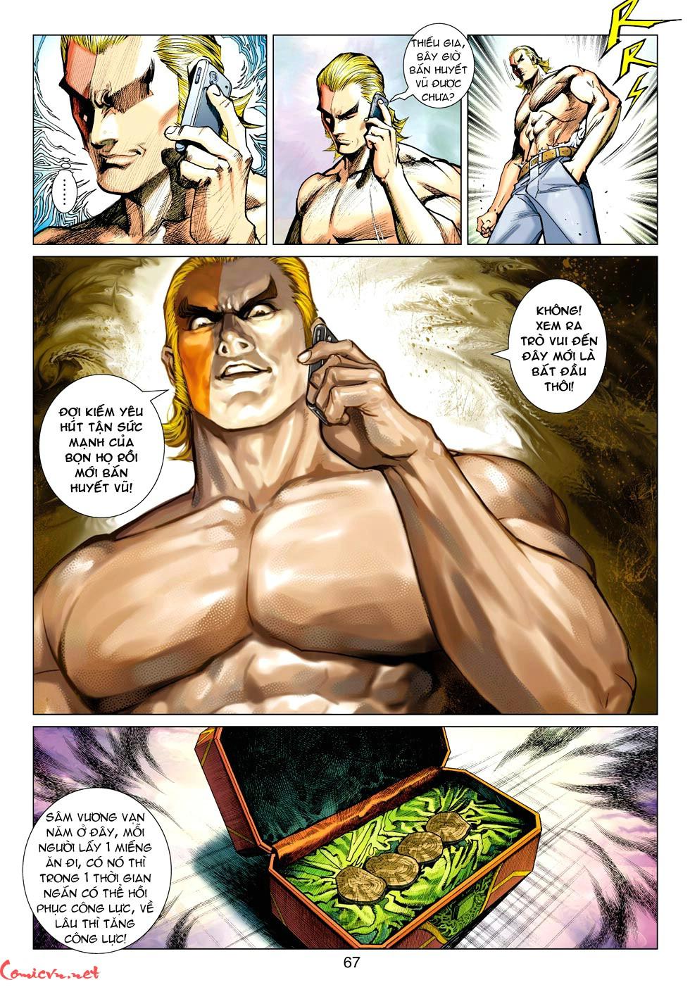 Vương Phong Lôi 1 chap 35 - Trang 24