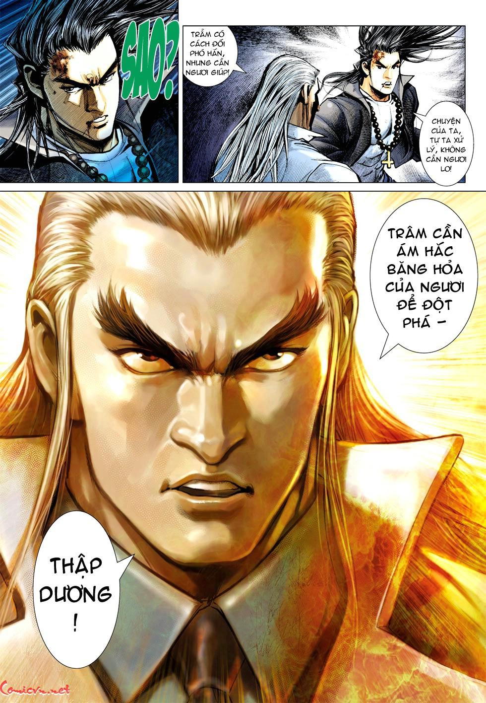 Vương Phong Lôi 1 chap 35 - Trang 28