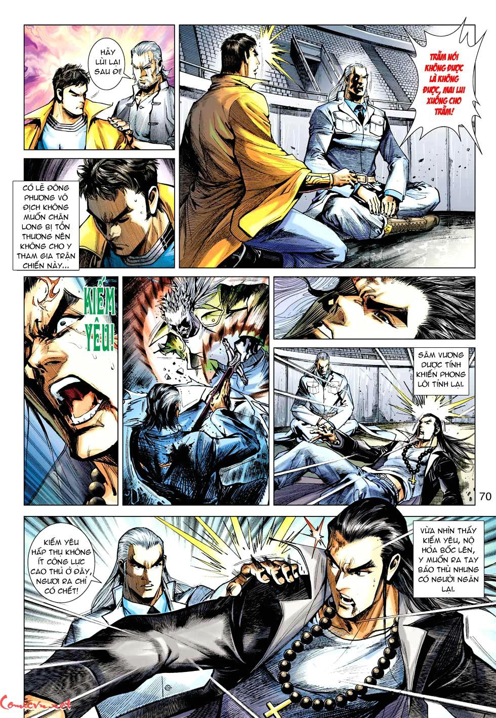 Vương Phong Lôi 1 chap 35 - Trang 27