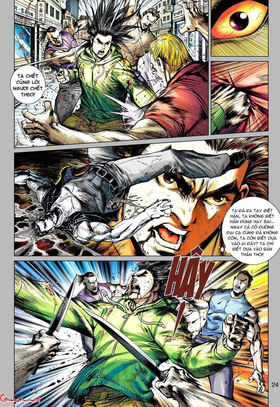 Vương Phong Lôi 1 chap 34 - Trang 24