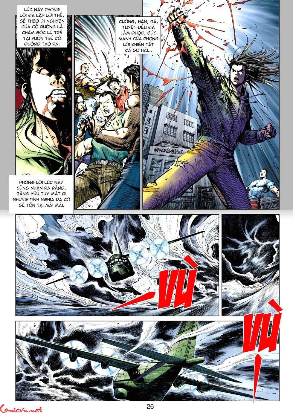 Vương Phong Lôi 1 chap 34 - Trang 26