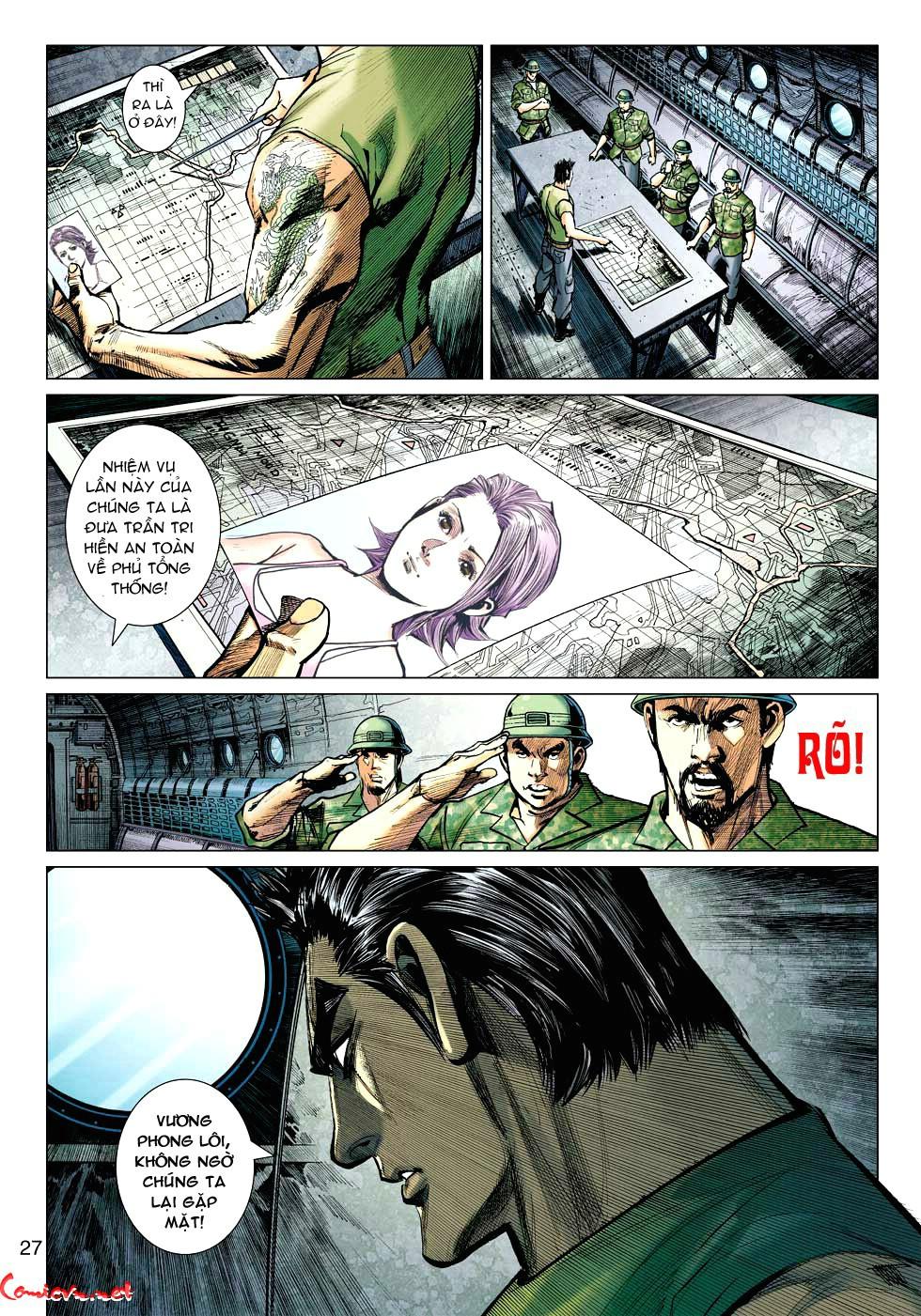 Vương Phong Lôi 1 chap 34 - Trang 27
