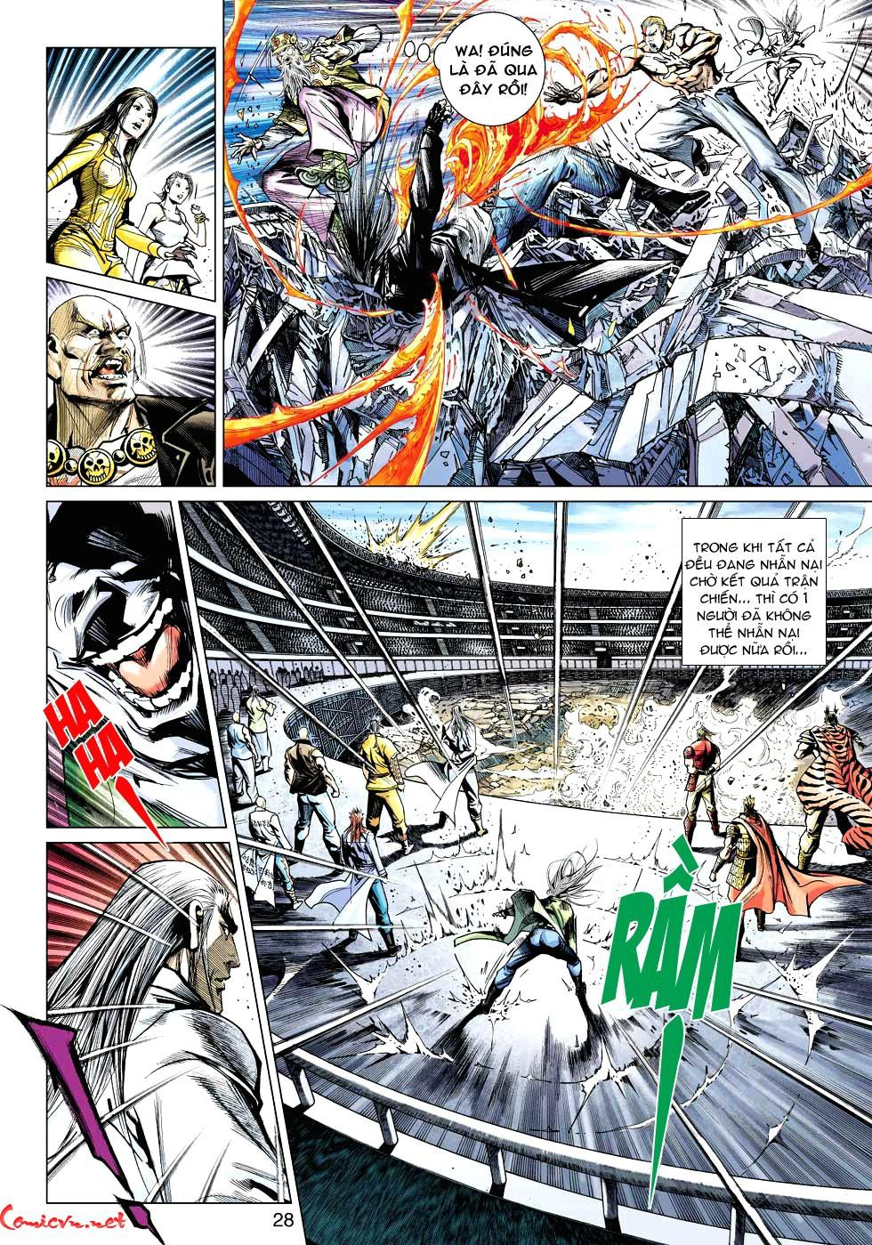 Vương Phong Lôi 1 chap 34 - Trang 28