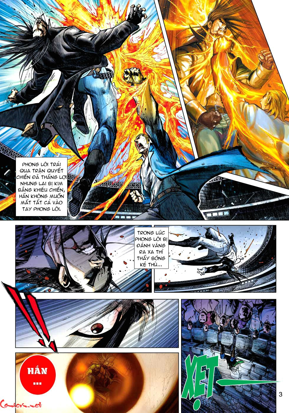 Vương Phong Lôi 1 chap 34 - Trang 3