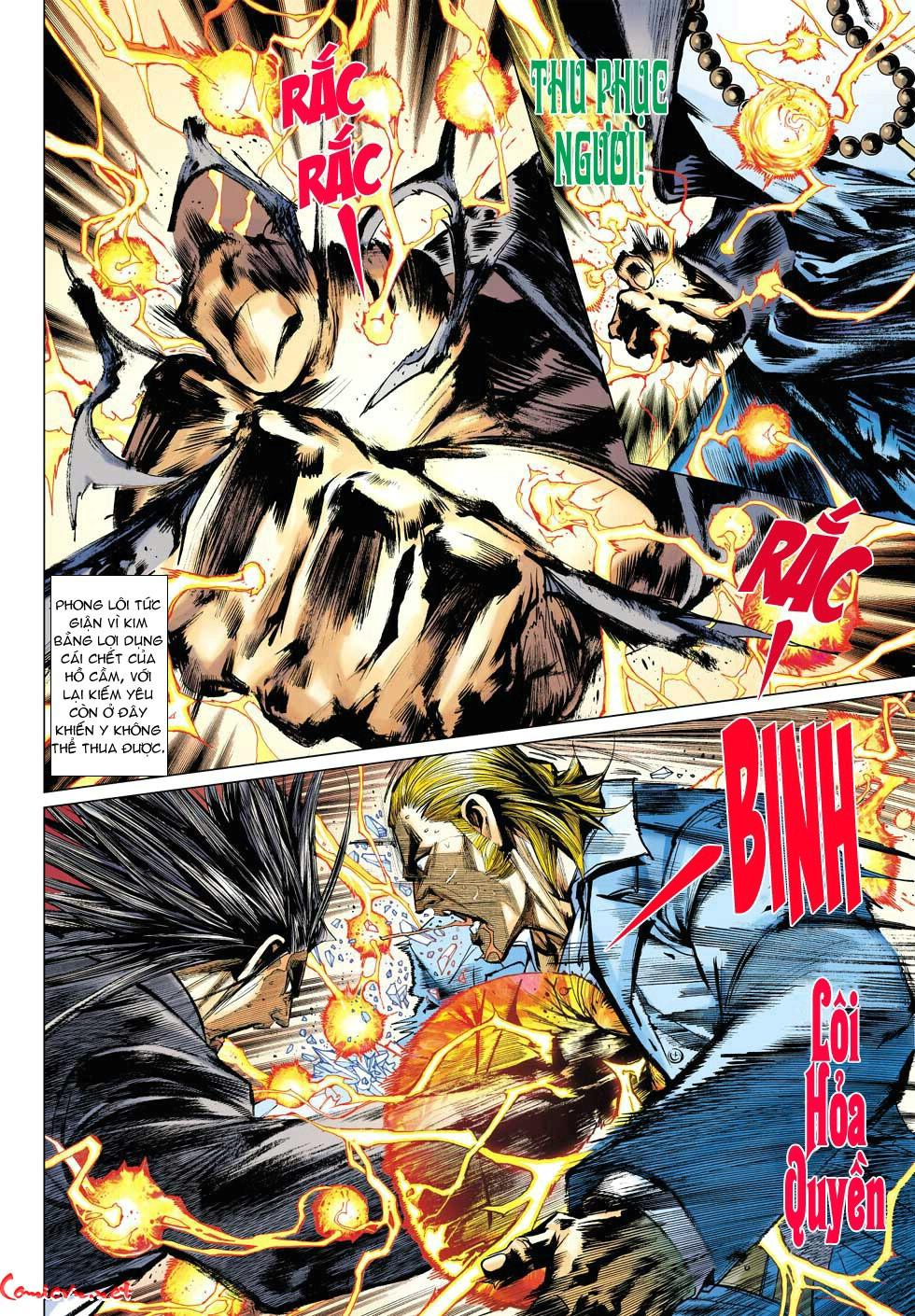 Vương Phong Lôi 1 chap 34 - Trang 8