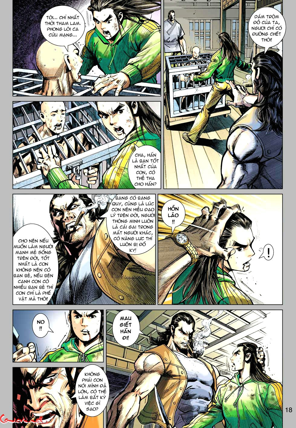 Vương Phong Lôi 1 chap 34 - Trang 18