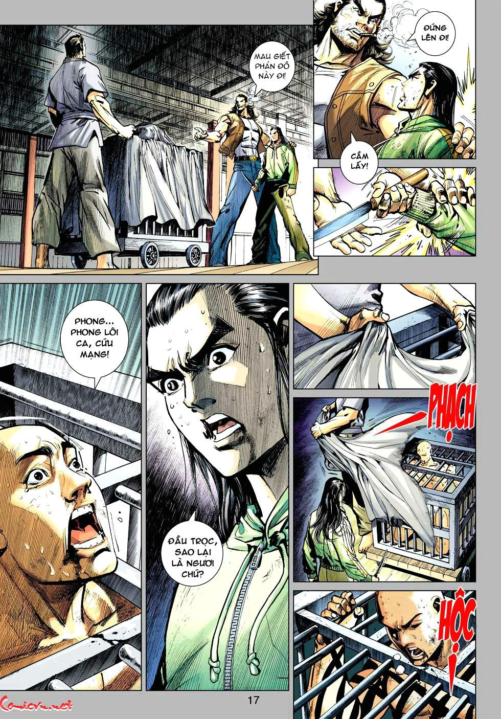 Vương Phong Lôi 1 chap 34 - Trang 17