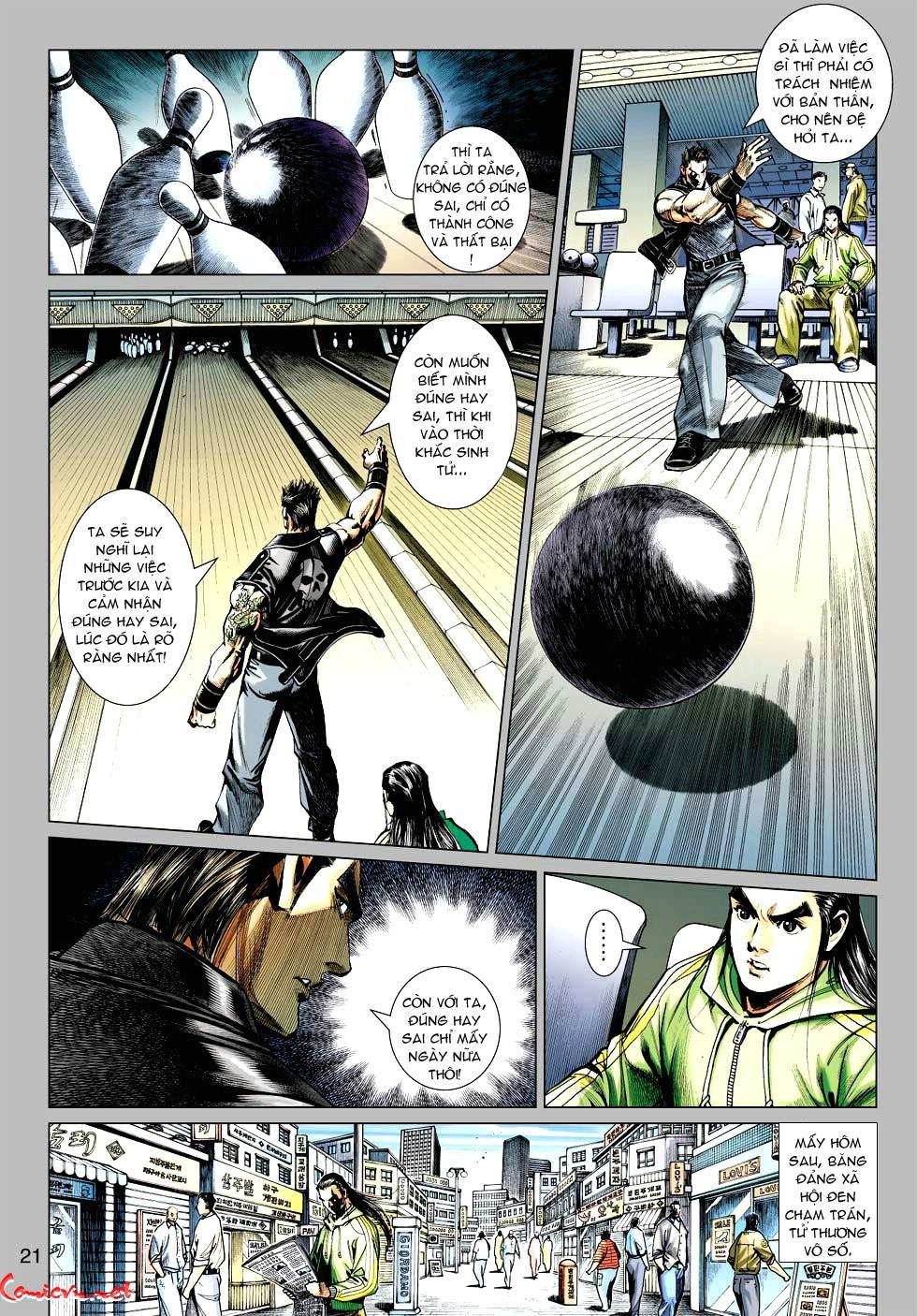 Vương Phong Lôi 1 chap 34 - Trang 21