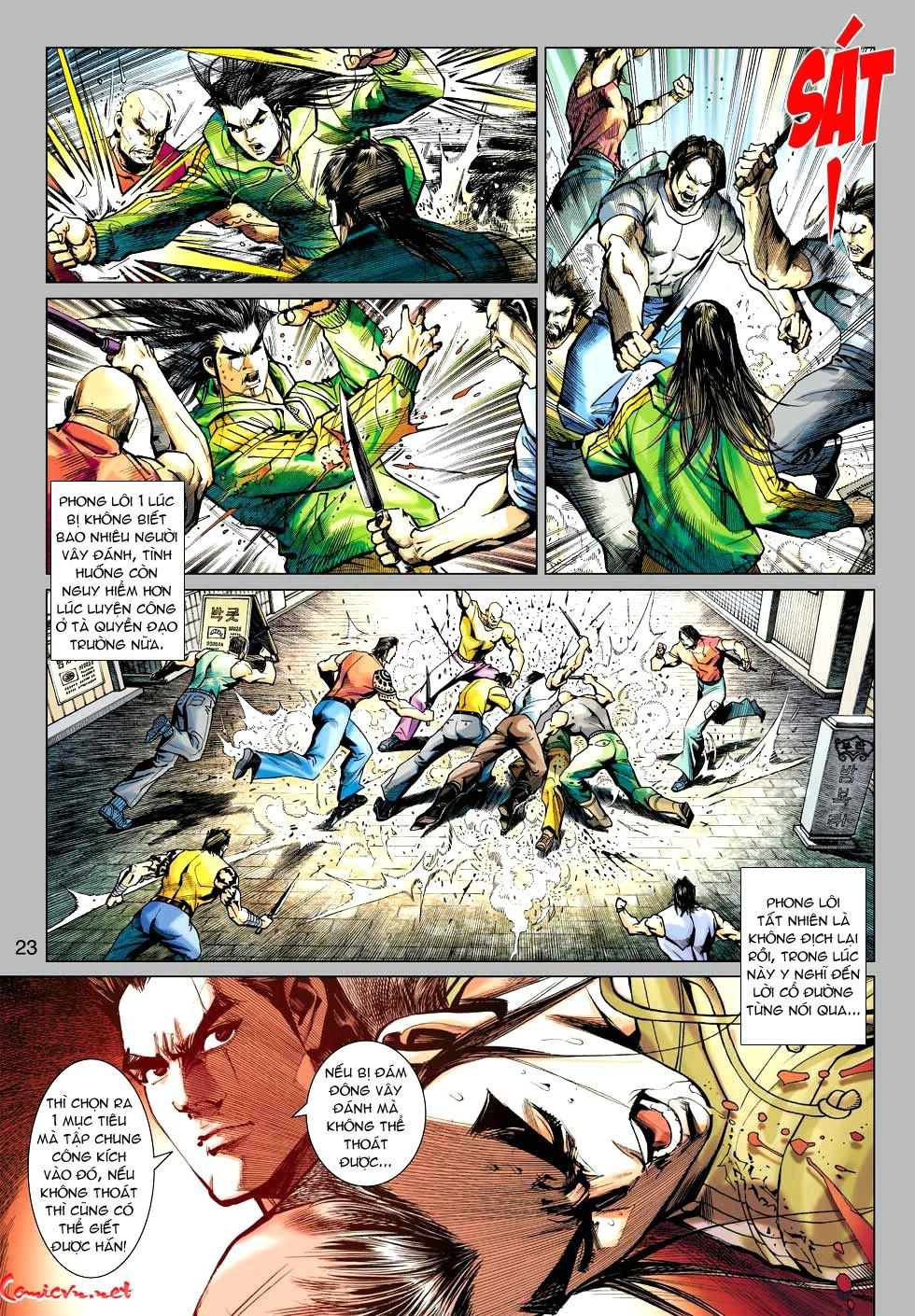 Vương Phong Lôi 1 chap 34 - Trang 23