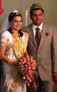 Idea Star Singer 2007 Durga Viswanath Marriage Photos