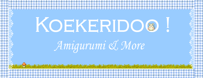 Koekeridoo Amigurumi's and more !