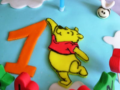 Cuore dolce torta winnie the pooh con mmf for Winnie pooh ka che