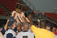 2008 NCHSAA 3-A Baseball State Champions