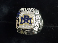 2010 NCHSAA 3-A Boys Basketballl State Championship Ring