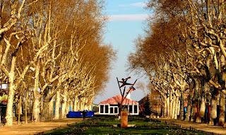L'Esplanade à Montpellier