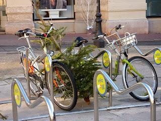 Vélos à Montpellier
