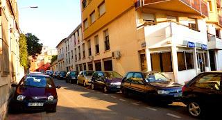 Parking dans les rue de Montpellier