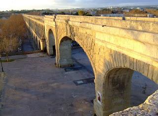 l'aqueduc à Montpellier