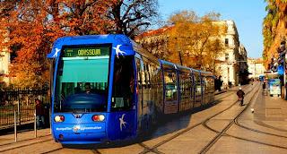 Tram ligne 1 à Montpellier