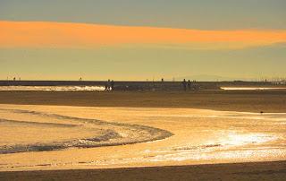 La mer près de Montpellier : Palavas