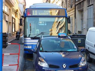 Traffic à Montpellier