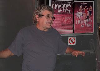 Michel Saillard, la Cicrane à Montpellier