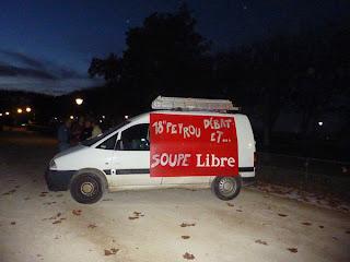 Montpellier et les manifestations : la soupe du peuple