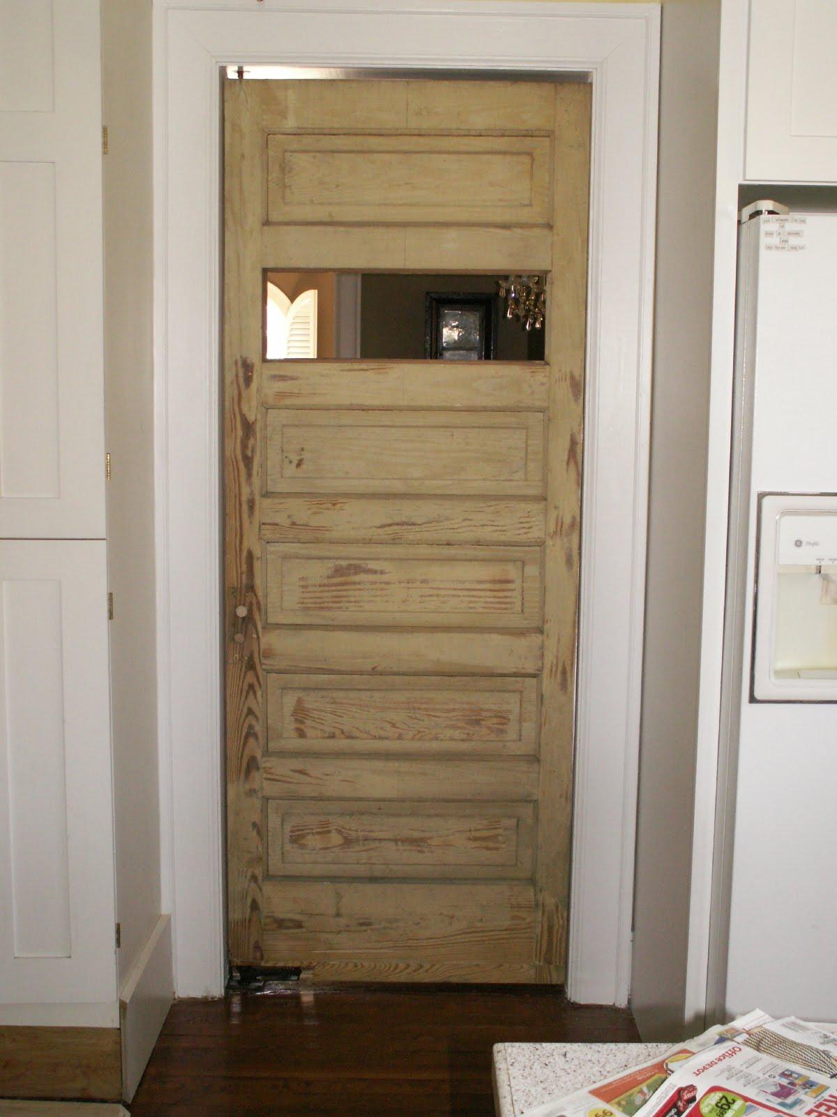 Maggie S Attic New Kitchen Door
