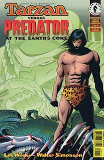 Dark Horse comics Tarzan-vs.Predator