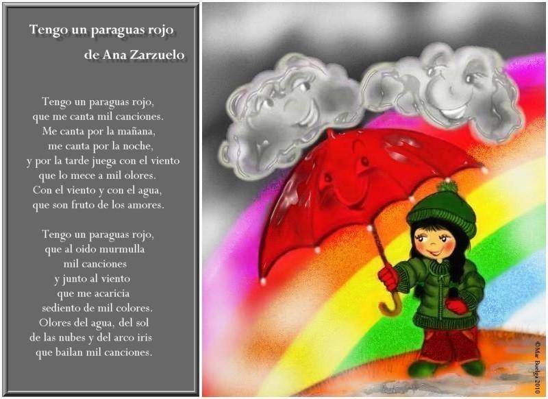 letra el poema de la lluvia: