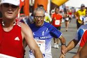 Llegada a la I Media Maratón de Alicante