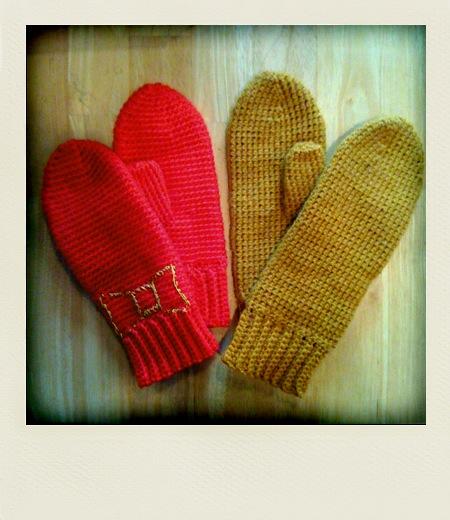 Crochet Mittens - Free Crochet Pattern for Mittens
