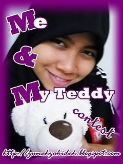 Me AND My Teddy Contest