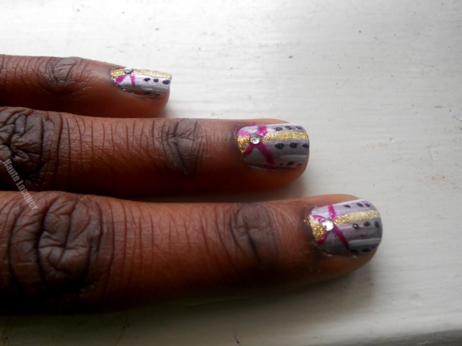 Haute Lacquer: Valentines Nail Art Fail