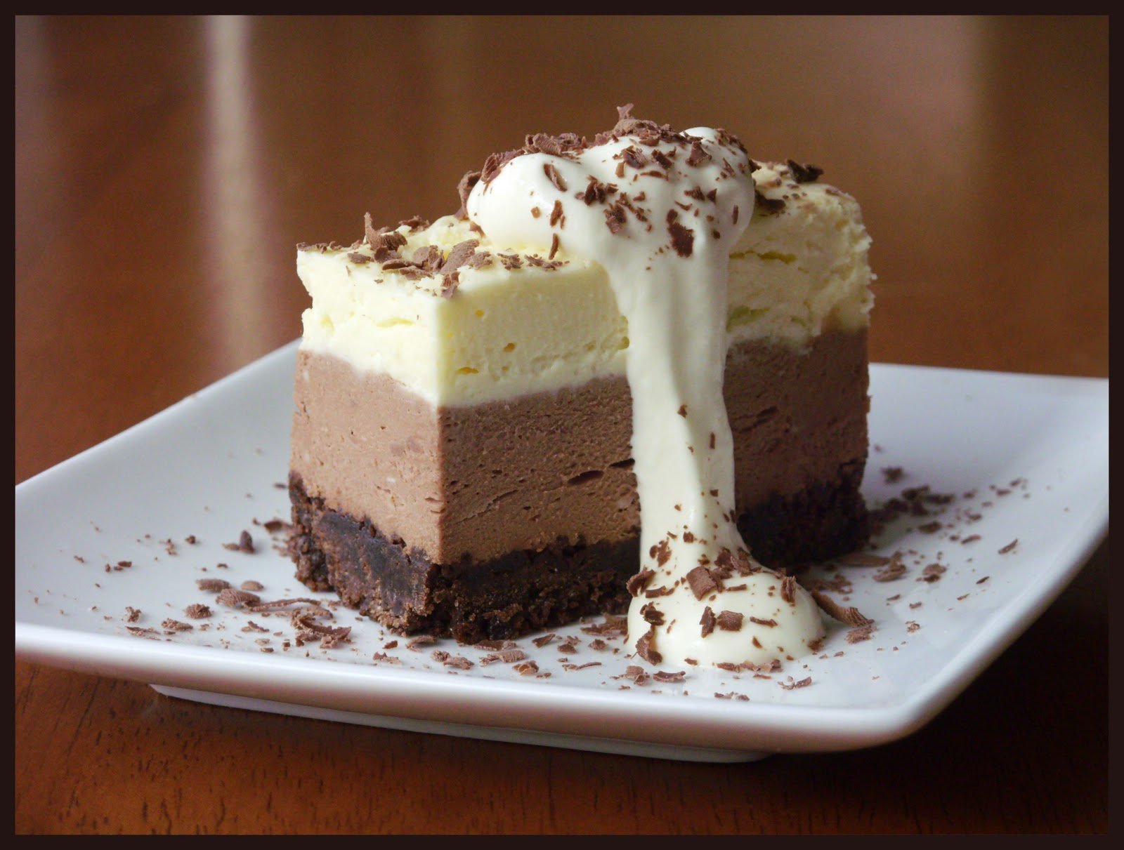 These Tastes of Mine / Triple Chocolate Cheesecake