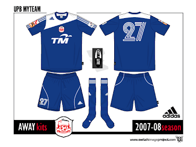Football teams shirt and kits fan: August 2008