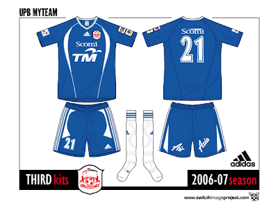 All the UPB-MyTeam FC kits I draw special and belong to the teams ...