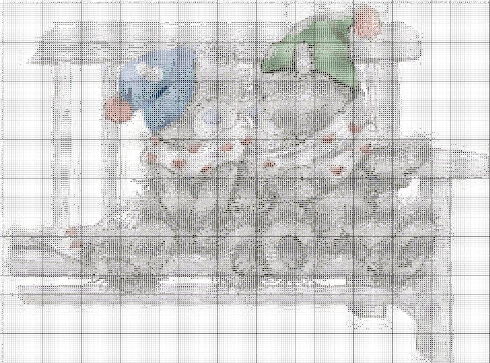 XFloss - Создание схем для вышивки крестиком или бисером 35