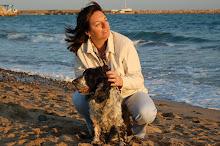 Cambrils 2008, amb l'Indy un gosset molt estimat!! Mai t'oblidaré!!!!