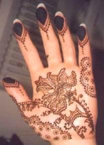 Henna Mehndi Rose Mehndi Design