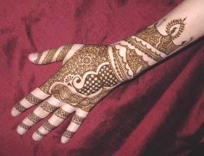 mehndi designs 5 Smart Mehndi Designs