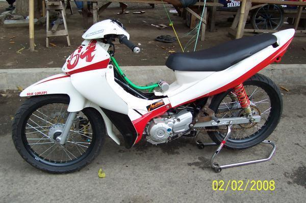 motor modifikasi road race terkeren