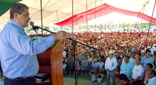 Inversión de Sedeso para el progreso de Puebla