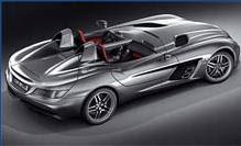 New Mercedes SLR revealed