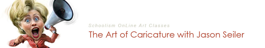 Schoolism: Caricature Class Blog