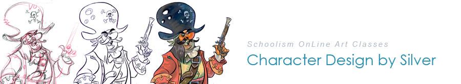 Schoolism: Character Design Class Blog